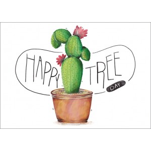 Cactus Happy tree 11106