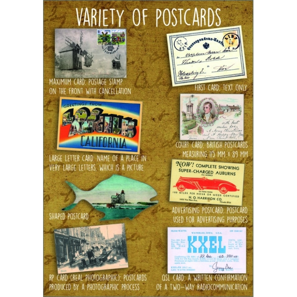 11959 Variety of postcards