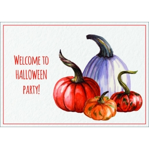 12276 Welcome to Halloween party