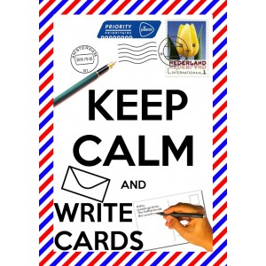 Keep calm write cards 11153