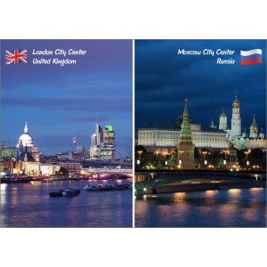 Landmarks: United Kingdom Russia - City Center 11398