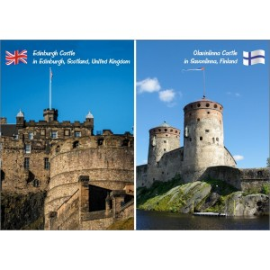 Landmarks: United Kingdom Finland - Castle 11402
