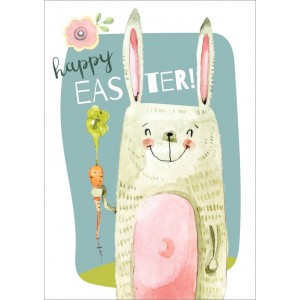 11250 Happy easter blauw