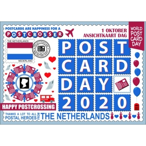 12269 World Postcard Day Netherlands