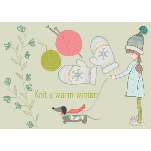 Knit a warm winter 11185