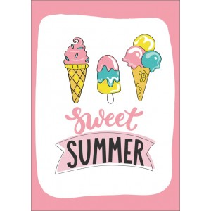 Sweet summer icecream 11374