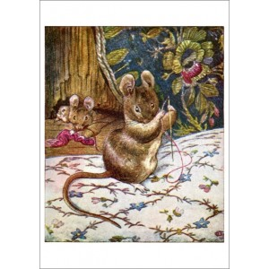 Beatrix Potter: Mouse with Sewing Needle 11294