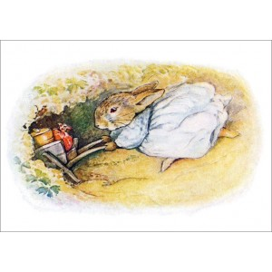 Beatrix Potter: Rabbit entering her burrow 11297