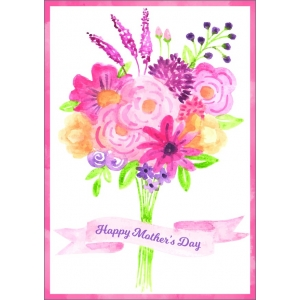 12194 Happy mothers day - bos bloemen