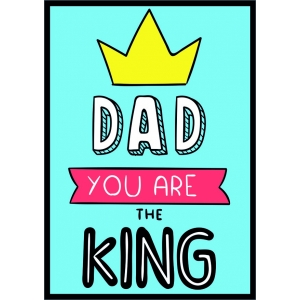12203 Dad you are the King