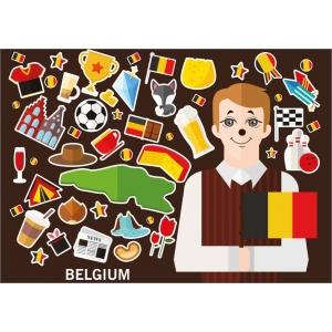 11768 Icons of Belgium