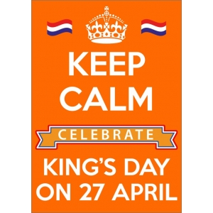 11766 Keep Calm King's Day