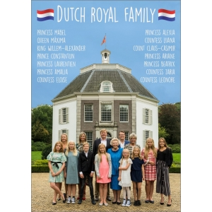 11803 Dutch royal family - Engelstalig
