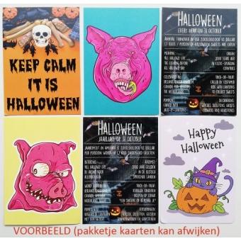 12092 Sale Halloween - set van 6 kaarten